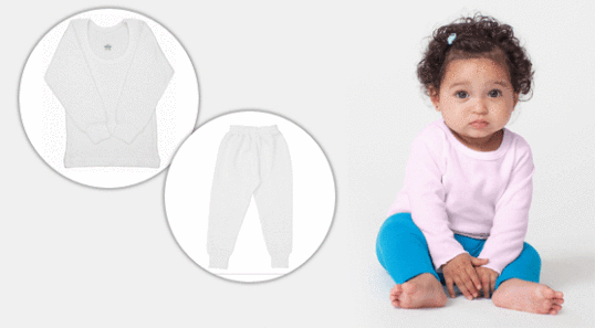 Baby-Wärmekleidung